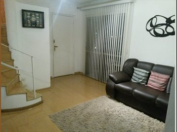 EasyQuarto BR - Quartos em cobertura duplex (apenas homens) - Morumbi, São Paulo capital - R$ 900 Por mês