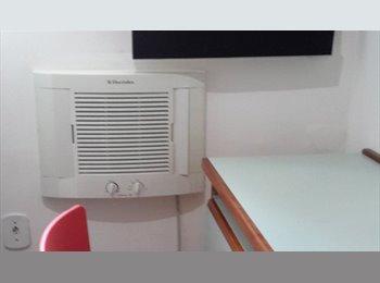 EasyQuarto BR - Alugo quartos próximo a Universidade Gama Filho - Piedade, Rio de Janeiro (Capital) - R$ 700 Por mês