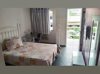 EasyQuarto BR - Quarto com varanda para alugar - Barra da Tijuca, Rio de Janeiro (Capital) - R$ 1.500 Por mês