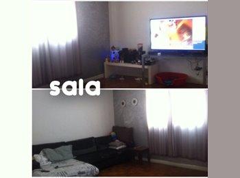 EasyQuarto BR - DIVIDO AP - V.MARIANA  AMPLO >> 90 m2  << - Vila Mariana, São Paulo capital - R$ 1.300 Por mês