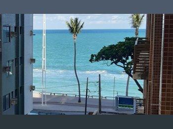 EasyQuarto BR - QUARTO MOBILIADO, COM GARAGEM, NA PRAIA. - Recife, Recife - R$ 800 Por mês