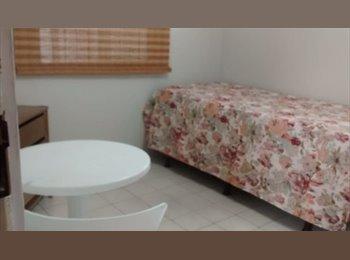 EasyQuarto BR -   SUITE E QUARTO- PINA, Recife - R$ 700 Por mês