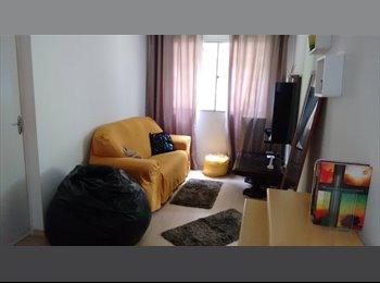 EasyQuarto BR - Dividir Apartamento (Feminino) - Próximo a linha LILÁS do metrô, Santo Amaro - R$ 700 Por mês