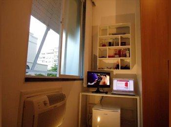 EasyQuarto BR - Suite de luxo em Copacabana - Copacabana, Rio de Janeiro (Capital) - R$ 1.850 Por mês