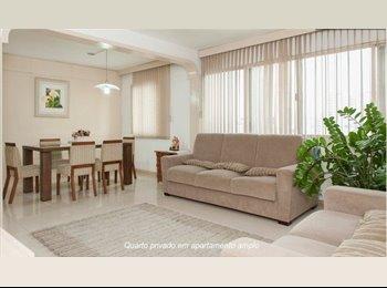 EasyQuarto BR - Great Flat, location and buddies - Pinheiros, São Paulo capital - R$ 1.700 Por mês