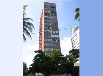 EasyQuarto BR - Alugo Kitnet/estudo na Beira Mar de Boa Viagem, Recife - R$ 1.200 Por mês