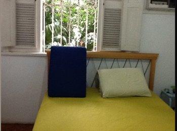 EasyQuarto BR - Quarto cama casal perto PUC - Gávea, Rio de Janeiro (Capital) - R$ 1.700 Por mês