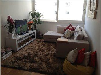 EasyQuarto BR - Vaga em apto bem localizado em MOEMA - Moema, São Paulo capital - R$ 1.650 Por mês