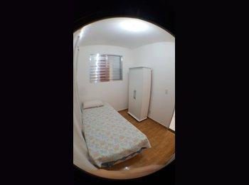 EasyQuarto BR - Suítes mobiliadas próximas à UFMG - P/ Estudantes - Ouro Preto, Belo Horizonte - R$ 630 Por mês