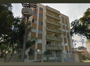 EasyQuarto BR - QUARTO NO ÁGUA VERDE/APTO GRANDE COM 3 QUARTOS SUPER MOBILIADO, Curitiba - R$ 1.200 Por mês