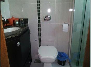 EasyQuarto BR - Alugo suíte mobiliada . - Castelo, Belo Horizonte - R$ 850 Por mês