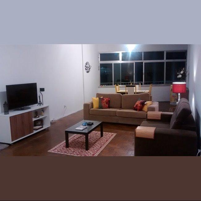 Aluguel kitnet e Quarto em Copacabana Suite + wi fi