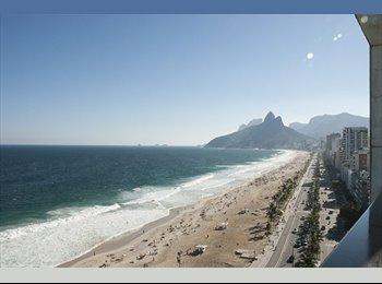 EasyQuarto BR - Suíte de Luxo Ipanema-Vieira Souto - Ipanema, Rio de Janeiro (Capital) - R$ 3.000 Por mês