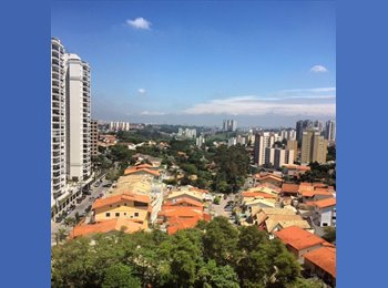EasyQuarto BR - Apartamento no Morumbi - 1 quarto disponível - Morumbi, São Paulo capital - R$ 1.000 Por mês