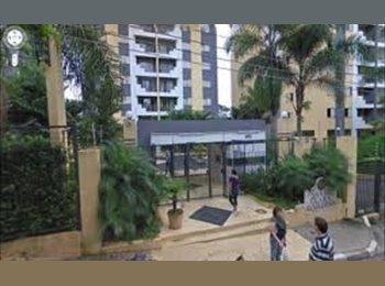 EasyQuarto BR - Lindo Quarto individual e Mobilado - Santo Amaro, São Paulo capital - R$ 950 Por mês