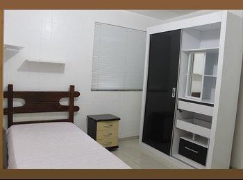 EasyQuarto BR - Alugo quartos em pensionato (casa de família) - Itapoa, Belo Horizonte - R$ 1.200 Por mês