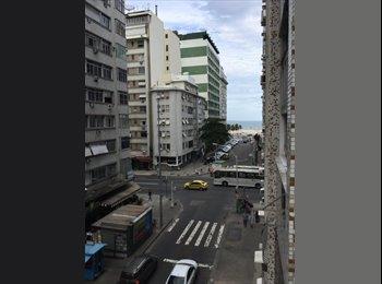 EasyQuarto BR - Apartamento free em Copacabana - Copacabana, Rio de Janeiro (Capital) - R$ 2.500 Por mês