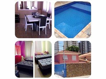 EasyQuarto BR - Casa Rosa - Santana, São Paulo capital - R$ 600 Por mês