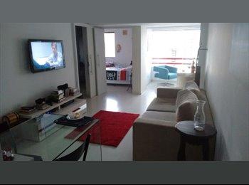 EasyQuarto BR - Divido Apartamento no Rosarinho!!! MOBILIADO!! - Recife, Recife - R$ 1.300 Por mês