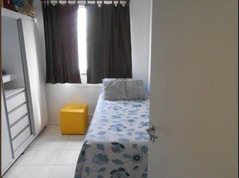 EasyQuarto BR - Quarto em Sao Cristóvão - perto Maracana / UERJ - São Cristovão, Rio de Janeiro (Capital) - R$ 600 Por mês