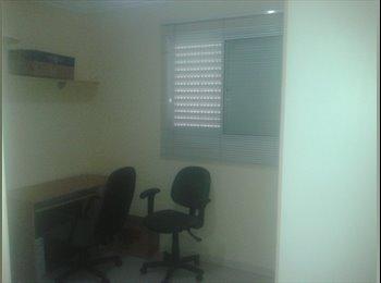 EasyQuarto BR - Alugo quarto, banheiro individual, alto padrão. - RM Campinas, RM Campinas - R$ 1.300 Por mês