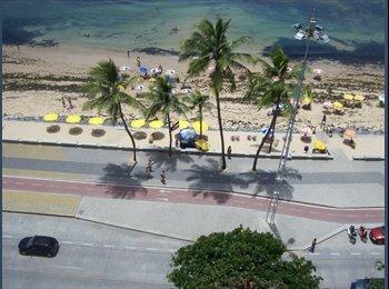 EasyQuarto BR - Alugo quarto para 02 pessoas do sexo feminino - Recife, Recife - R$ 450 Por mês