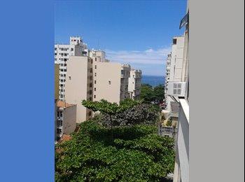 Apartamento em Copacabana 1 quadra do metrô e 2 quadras da...