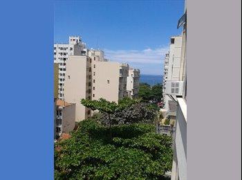 EasyQuarto BR - Apartamento em Copacabana 1 quadra do metrô e 2 quadras da praia - Copacabana, Rio de Janeiro (Capital) - R$ 1.450 Por mês