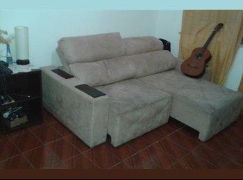 EasyQuarto BR - Alugo Quartos ou Apartamento Integral - Tijuca, Rio de Janeiro (Capital) - R$ 1.000 Por mês