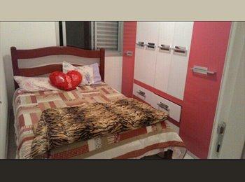 EasyQuarto BR - Alugo quarto para moça - Santo André, RM - Grande São Paulo - R$ 550 Por mês