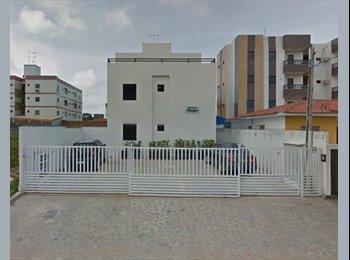 EasyQuarto BR - Apartamento com 3 quartos, para dividir com outros estudantes. - Outros, João Pessoa - R$ 800 Por mês