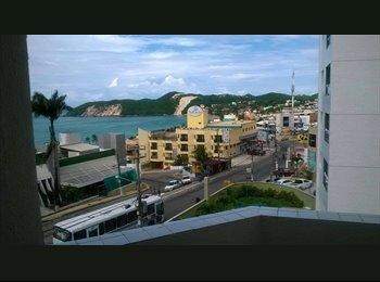 EasyQuarto BR - Apartamento bohemio c vista para o Morro do Careca - Natal, Natal e Grande Natal - R$ 1.000 Por mês