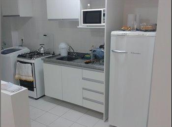 EasyQuarto BR - Quarto em apto espaçoso próximo ao Catuaí - Londrina, Londrina - R$ 550 Por mês