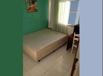 EasyQuarto BR - Suite mobiliada na pituba  - Cidade Alta, Salvador - R$ 700 Por mês