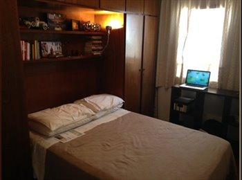 EasyQuarto BR - Apartamento silencioso e espaçoso na Vila Madalena - Pinheiros, São Paulo capital - R$ 1.500 Por mês
