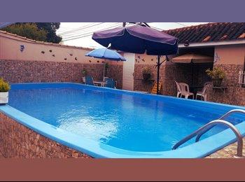 EasyQuarto BR - Pousada Sol e Lua/ Quarto em casa de família. - Seminário, Curitiba - R$ 700 Por mês