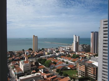 EasyQuarto BR - Quarto com cama de casal em apto incrível na Praia de Iracema - Outros, Fortaleza - R$ 800 Por mês