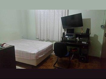 EasyQuarto BR - Suite com Garagem lado do parque do Taquaral - Campinas, RM Campinas - R$ 900 Por mês