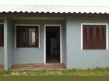 EasyQuarto BR - Casa nova 2 quartos - Imbé, Litoral RS-Praias - R$ 500 Por mês