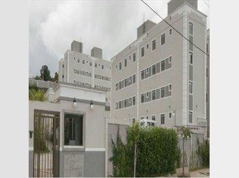EasyQuarto BR - Apartamento novo, 2 quartos, 1 vaga de garagem, piso porcelanato/laminado, paredes revestidas cerami - Betim, Grande BH - R$ 450 Por mês