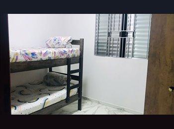 EasyQuarto BR - Aluga-se quartos para rapazes em Guarulhos!, Guarulhos - R$ 350 Por mês