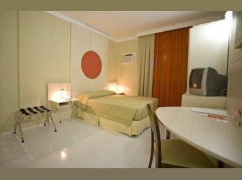 EasyQuarto BR - Apart Hotel - Centro, Florianópolis - R$ 150 Por mês