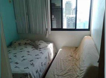 EasyQuarto BR - Alugo suite na barra da tijuca - Barra da Tijuca, Rio de Janeiro (Capital) - R$ 2.300 Por mês