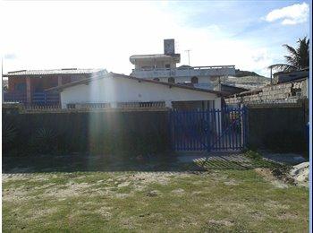 EasyQuarto BR - Excelente Casa na Praia de Redinha Nova / Santa Rita - Extremoz, Natal e Grande Natal - R$ 600 Por mês