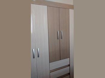 EasyQuarto BR - alugo um quarto mobiliado  no centro de londrina, o apartamento é todo imobiliado, cada pessoa tem s - Londrina, Londrina - R$ 400 Por mês