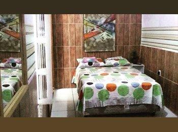 EasyQuarto BR - Quarto individual mobiliado - Natal, Natal e Grande Natal - R$ 500 Por mês
