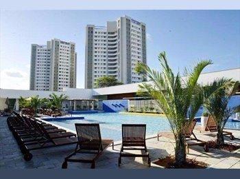 EasyQuarto BR - Divido apartamento 2/4 no Imperial Vila Park  - Natal, Natal e Grande Natal - R$ 550 Por mês