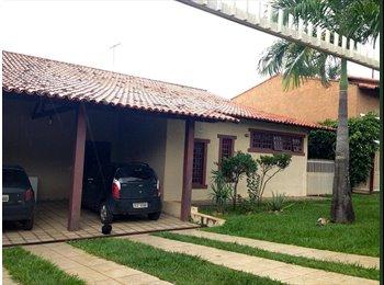 EasyQuarto BR - Quarto disponível, numa casa Incrível - Outros Bairros, Brasília - R$ 1.300 Por mês
