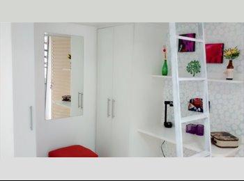 EasyQuarto BR - Kitnet linda mobiliada - Sorocaba, Sorocaba - R$ 460 Por mês