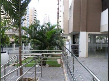 Quarto vago no Jardim Goiás, excelente localização